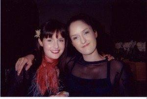 An old pic, but my favorite of Candi (right) and myself