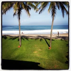 View from La Lucciola, Bali