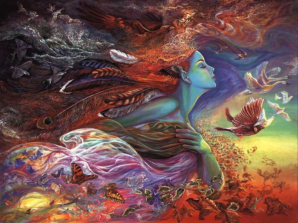 Free spirit woman art images
