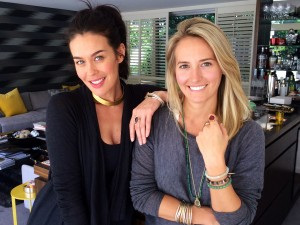 Susannah Fairley & Megan Gale