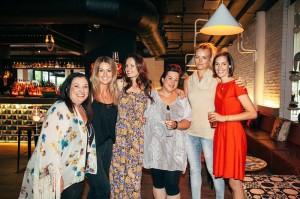 Julie Parker, Rachel MacDonald, Elizabeth Rose, Megan Koufos, Tara Bliss, Amanda Rootsey